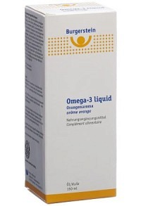 BURGERSTEIN Omega-3 liquid Fl 150 ml