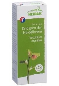 HEIDAK Knospe Heidelbeere Vacci Glyc Maz Fl 30 ml