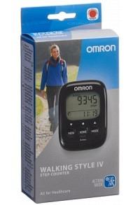 OMRON Schrittzähler Walking Style IV schwarz