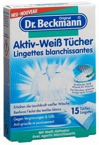 DR BECKMANN Aktiv-Weiß Tücher 15 Stk