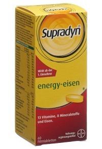 SUPRADYN energy eisen Filmtabl Ds 60 Stk