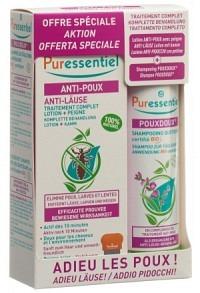 PURESSENTIEL Box Ant-Läuse Lot+Shamp Pouxdoux Bio