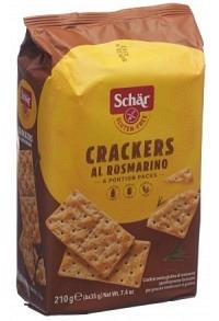 SCHÄR Crackers al rosmarino glutenfrei 210 g