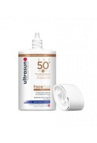 ULTRASUN Face Fluid SPF50+ Tinted HONEY 40 ml