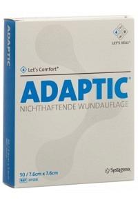 ADAPTIC Wundverband 7.6x7.6cm steril 50 Btl