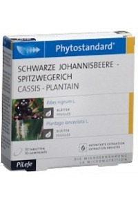 PHYTOSTANDARD Schw Johannisb-Spitzw Tabl 30 Stk