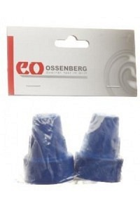 SAHAG Krückenkapseln 16mm blau 1 Paar