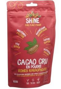 SHINE Rohes Kakaopulver BIO Btl 100 g