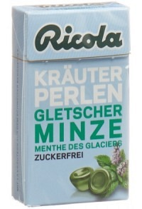 RICOLA Kräuter Perlen Gletscherminze oZ Box 25 g