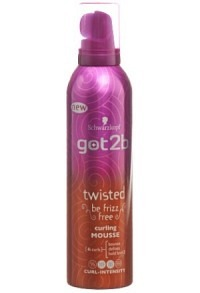 GOT2B twisted mousse 250 ml