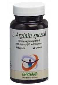 CHRISANA L-Arginin spezial Kaps Ds 90 Stk