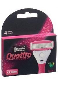 WILKINSON Quattro For Women Klingen 3 Stk