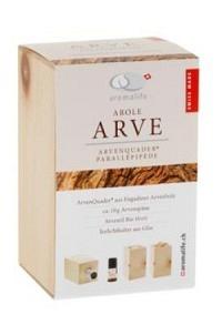 AROMALIFE ARVE ArvenQuader mit äth Öl Arve 10ml