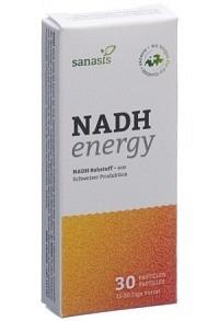 SANASIS NADH energy Pastillen 30 Stk