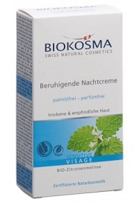 BIOKOSMA Sensitive Beruhig Nachtcreme 30 ml
