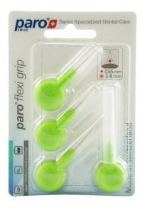 PARO Flexi Grip 3/8.0mm hellgrün med konisch 4 Stk