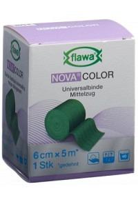 FLAWA NOVA COLOR Idealbinde 6cmx5m grün