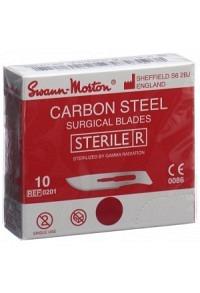 SWANN-MORTON Skalpellkling Fig.10 steril 100 Stk