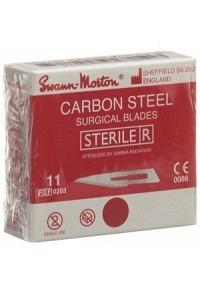 SWANN-MORTON Skalpellkling Fig.11 steril 100 Stk