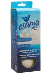 ESAMA Trocknerbälle aus Wolle 3 Stk