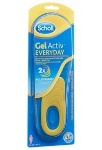 SCHOLL GelActiv Sohle 35.5-40.5 Everyday W 1 Paar
