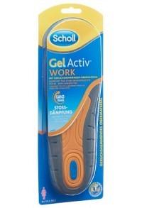 SCHOLL GelActiv Sohle 35.5-40.5 Work W 1 Paar