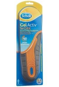 SCHOLL GelActiv Sohle 40-46.5 Work M 1 Paar