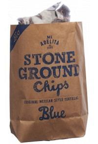 MIADELITA Bio Tortilla Chips Blue Corn Btl 150 g