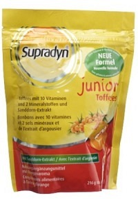 SUPRADYN junior Toffees Btl 48 Stk