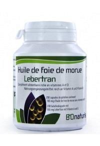 BIONATURIS Lebertran Kaps 165 mg 200 Stk