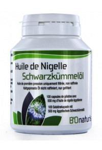 BIONATURIS Schwarzkümmelöl Kaps 500 mg 180 Stk