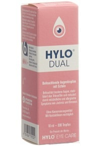 HYLO-DUAL Gtt Opht Fl 10 ml