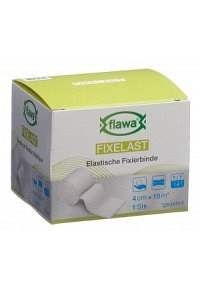 FLAWA Fixelast Fixierbinde 4cmx10m
