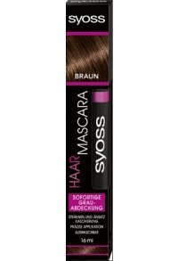 SYOSS Haar Mascara Schokobraun 16 ml