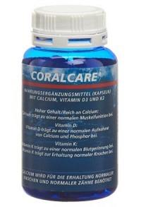 CORALCARE Calcium Kaps 750 mg VitD3 + K2 120 Stk