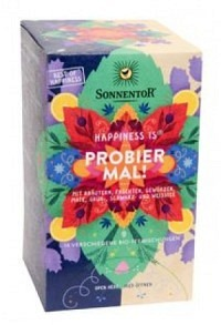 SONNENTOR Happiness is Probier mal! Tee 18 Stk