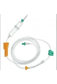 INFUSOMAT PlusLine 250cm Transfusion PVC 100 Stk