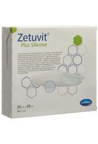 ZETUVIT Plus Silicone 20x20cm 10 Stk