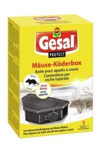 GESAL PROTECT Mäuse Köderbox leer (Achtung! Versand nur INNERHALB der SCHWEIZ möglich!)