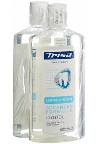 TRISA Mundspülung Revital Sensitive DUO 2 x 500 ml