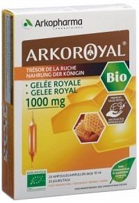 ARKOROYAL Gelée Royale 1000 mg Bio Trinkamp 20 Stk