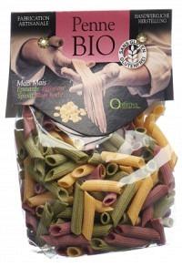 OPTIMYS Dreifarbige Mais-Penne Bio Btl 250 g