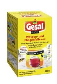 GESAL PROTECT Wespen-& Fliegenfalle Ref 200 ml (Achtung! Versand nur INNERHALB der SCHWEIZ möglich!)