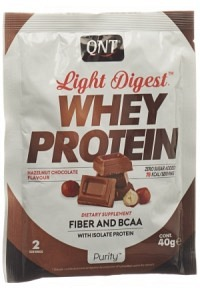 QNT Light Digest Whey Protein Hazelnut Choco 40 g