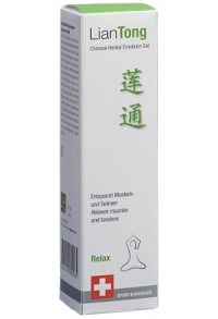 LIANTONG Chinese Herbal Emulsion Gel Relax 75 ml