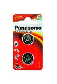 PANASONIC Batterien Knopfzelle CR2032 2 Stk