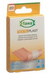 FLAWA Textil Plast Schnellverband 6x10cm 10 Stk