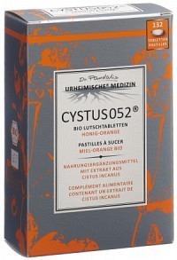 CYSTUS 052 Bio Lutschtabl Honig-Orange 132 Stk