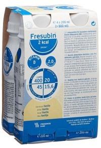 FRESUBIN 2 kcal DRINK Vanille 4 Fl 200 ml