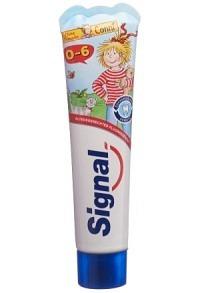 SIGNAL Zahnpasta 0-6 Jahre mit Erdbeergeschm 50 ml